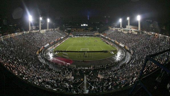 Bastidores do jogo do Corinthians no Pacaembu