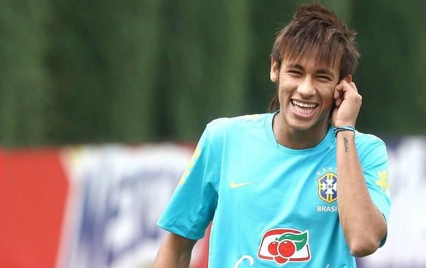Treino de Neymar na Seleção Brasileira