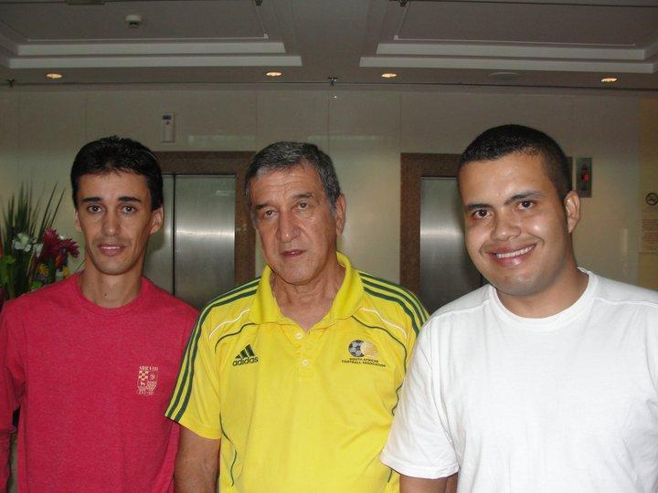 Entrevista com o técnico Carlos Alberto Parreira