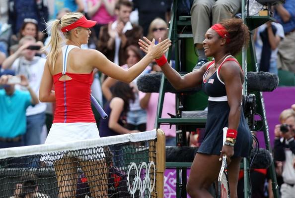 Narração do duelo entre Serena Williams e Sharapova