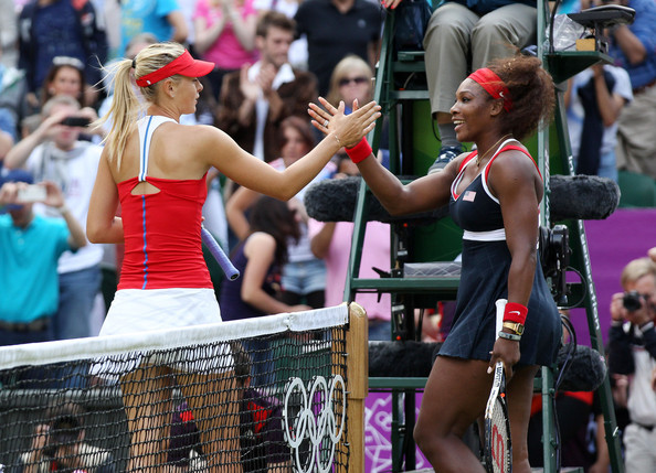 Narração do duelo entre Serena Williams e Sharapova